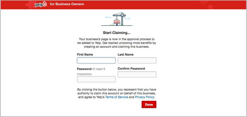 How to list your business on Yelp